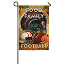 Food Family Football Garden Banner, EE14S3511G