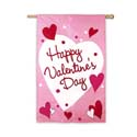 Happy Valentine's Day Garden Banner, EE16375