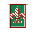 Fleur de Lis for the Holidays Banner, EE157899