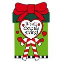 All About the Giving Garden Banner, EE168104G