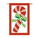 Candy Cane Ribbon Optic Banner, EE15FB024