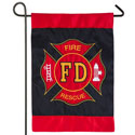 Fire Department Applique House Banner, EE158608