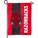 University of Arkansas Razorbacks Embellished Hog Garden Flag, EE16SF911G