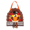 Thankful and Blessed Turkey Door Hanger, EE2DHB1325