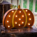 Battery Operated Light Up Pumpkin Outdoor Wall Hanging, EE2SP4475