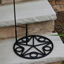 Star Flagpole Base, EE489265