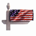 America in Motion Mailbox Cover, EE56002