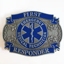 EMT First Responder Belt Buckle, EEIB0163
