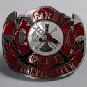 Fire Fighter Belt Buckle, EEIB0194