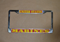 US Marines License Plate Frame, EEILP3924
