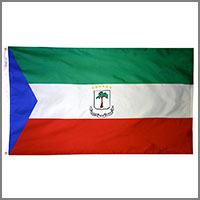 Equatorial Guinea Flags
