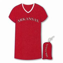 Arkansas Razorbacks Nightshirt in a Bag