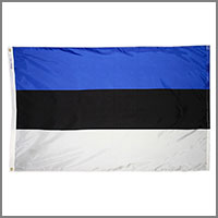 Estonia Flags