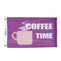 Coffee Time Flag, FCOFFTIM1218