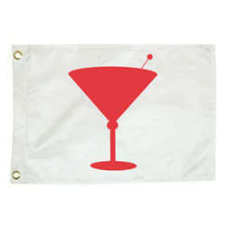 Cocktail Silhouette Flag, FCOTATI1218
