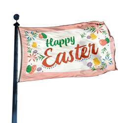 Happy Easter Flag, FEASTER35