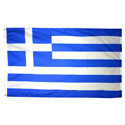 Greece (Hellinic Republic) Flag - Polyester
