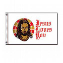 Jesus Loves You Flag, FJESUS35