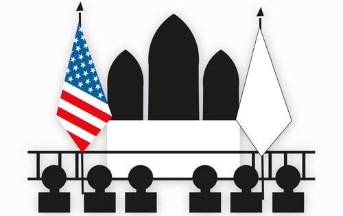 Flag etiquette american flag etiquette usa flag etiquette for Proper placement of american flag