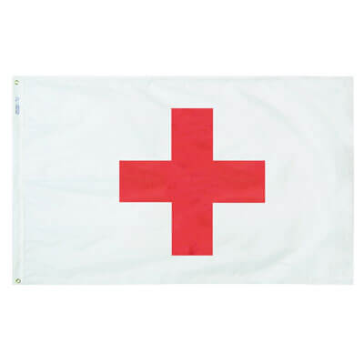 Red Cross flag, FREDC35