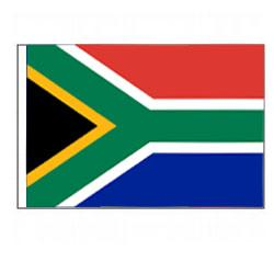 South Africa Flag with Pole Hem, FBPP0000012207
