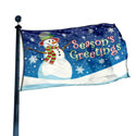 Seasons Greeting Flag, FSEASGREET35