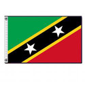 Federation of St. Kitts & Nevis Flag