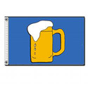Beer Mug Flag, FUNBEER35