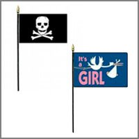 Fun & Novelty Flags - Miniature