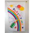 Party Time Rainbow Flag, FUNPRAIN35