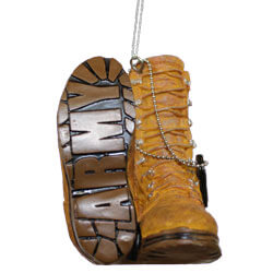 Army Combat Boot Ornament, GAN147467ARMY