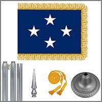 General & Admiral Star Flags & Kits