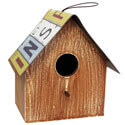 License Plate Birdhouse, GER37944