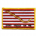 First Navy Jack Flag Patch, GPAT8757