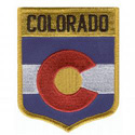 Colorado Flag Patch, GPATCO