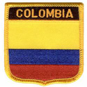 Colombia Shield Patch,GPATCOLO