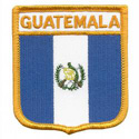 Guatemala Shield Patch, GPATGUAT
