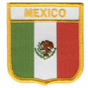 Mexico Shield Patch, GPATMEXI