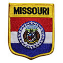 Missouri Flag Patch, GPATMO