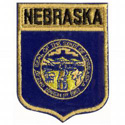 Nebraska Flag Patch, GPATNE