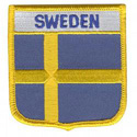 Sweden Shield Patch, GPATSWED