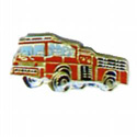 Fire Truck Lapel Pin, GPIN1118