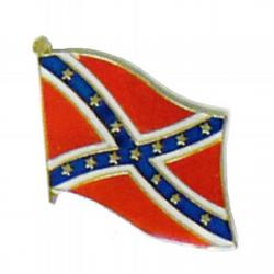 Waving Confederate Flag Lapel Pin, GPIN568