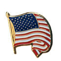 American Flag Lapel Pin (Waving), GPIN573