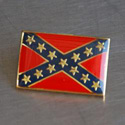 Confederate Battle Flag Lapel Pin, GPINSCONFBATT