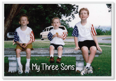 Grady's three sons