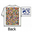 T-Shirt, Flags of the World, GSHIRTXXL
