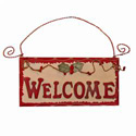 Holly Welcome Sign, HHL48014