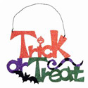 Trick or Treat Sign, HHL58522