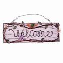Welcome Rectangular Sign, HHL69836
